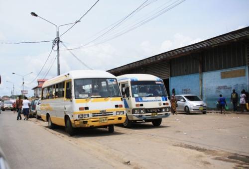 buses guyana
