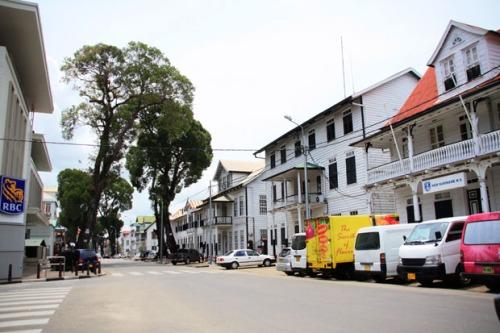 centro de Paramaribo